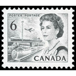 canada stamp 460c queen elizabeth ii transportation 6 1970