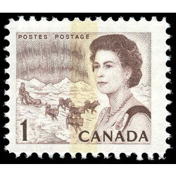 canada stamp 454piv queen elizabeth ii northern lights 1 1972