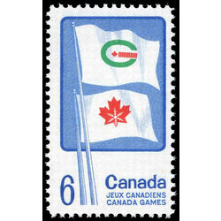 canada stamp 500 flags of summer and winter games 6 1969