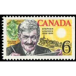 canada stamp 504 stephen leacock and mariposa 6 1969