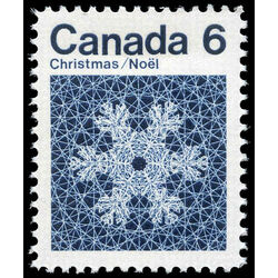 canada stamp 554 snowflake 6 1971