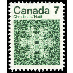 canada stamp 555 snowflake 7 1971