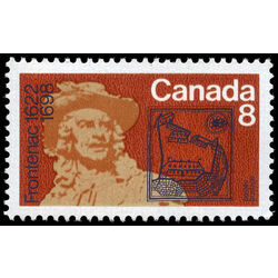 canada stamp 561i frontenac 8 1972