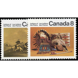 canada stamp 562 3 plains indians 1972