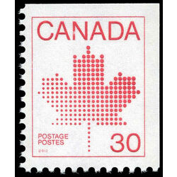 canada stamp 945 maple leaf 30 1982