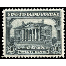 newfoundland stamp 157 colonial building st john s 20 1928