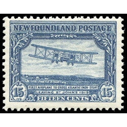 newfoundland stamp 170 first nonstop transatlantic flight 15 1930