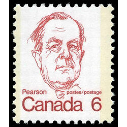 canada stamp 591iii lester b pearson 6 1973