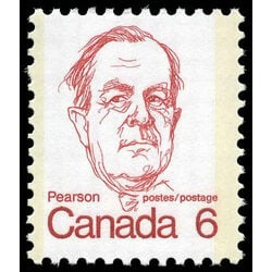 canada stamp 591iv lester b pearson 6 1973