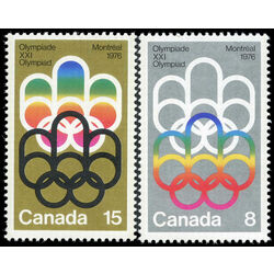 canada stamp 623 4 1976 olympic games 1973