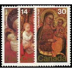 canada stamp 773 5 christmas paintings 1978