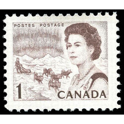 canada stamp 454i queen elizabeth ii northern lights 1 1968