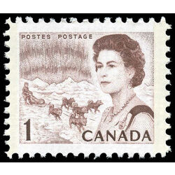 canada stamp 454p queen elizabeth ii northern lights 1 1967