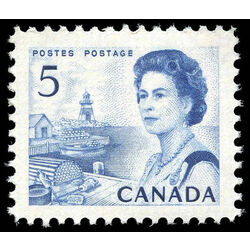 canada stamp 458iii queen elizabeth ii fishing village 5 1971