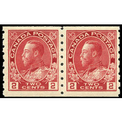 canada stamp 127pa king george v 1912