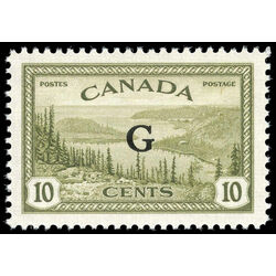 canada stamp o official o21 great bear lake b 10 1950