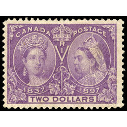 canada stamp 62 queen victoria jubilee 2 1897 m vf 027