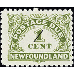 newfoundland stamp j1 postage due stamps 1 1949