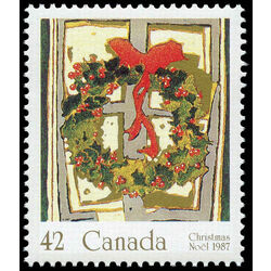 canada stamp 1149 holly wreath 42 1987