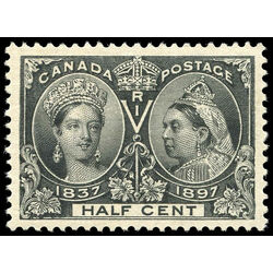canada stamp 50 queen victoria jubilee 1897 m vf 007