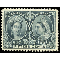 canada stamp 58 queen victoria jubilee 15 1897 m vf 012