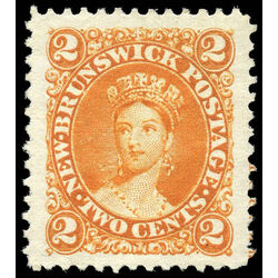 new brunswick stamp 7 queen victoria 2 1863