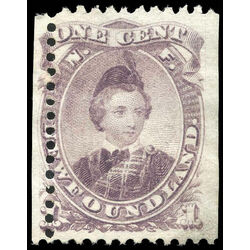 newfoundland stamp 32 edward prince of wales 1 1869 m vf 006