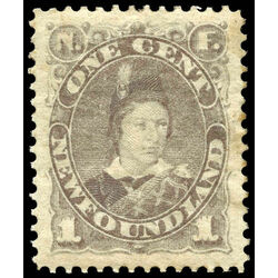 newfoundland stamp 42 edward prince of wales 1 1880 m vf 003