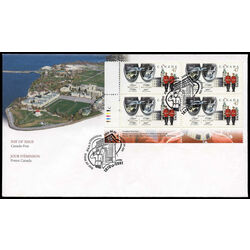 canada stamp 1906 royal military college 47 2001 fdc 001