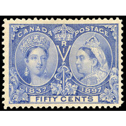canada stamp 60 queen victoria jubilee 50 1897 m vf 027