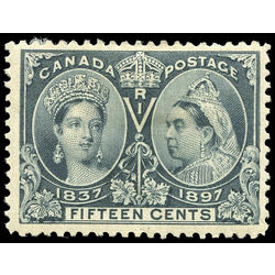 canada stamp 58 queen victoria jubilee 15 1897 m f 014