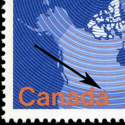 canada stamp 847ii map of canada 17 1980