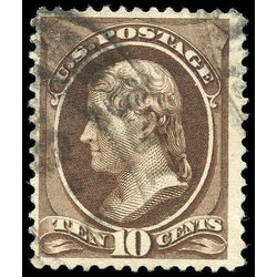 us stamp postage issues 209 jefferson 10 1881 u 003