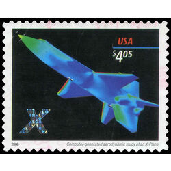 us stamp postage issues 4018 us stamp x planes 4 05 2006