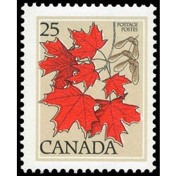canada stamp 719 sugar maple 25 1977