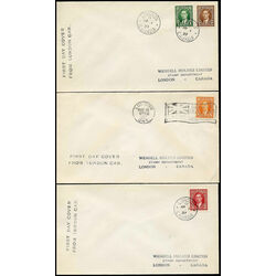 5 canada first day covers 231 6