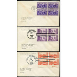 8 united states early first day covers 1934 1938