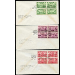 8 united states early first day covers 1936 1940