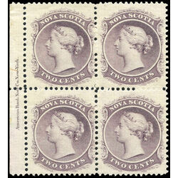 nova scotia stamp 9 queen victoria 2 1860 pb vf 004