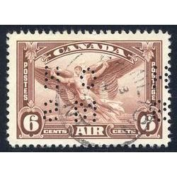 canada stamp official o oc5 daedalus in flight 6 1928