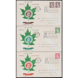 canada karsh first day covers