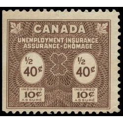 canada revenue stamp fu74 unemployment insurance stamps 40 1960
