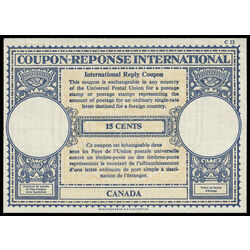 canada revenue stamp rc14 international reply coupons 15 1959