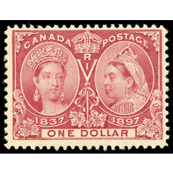 canada stamp 61 queen victoria jubilee 1 1897 m f 039