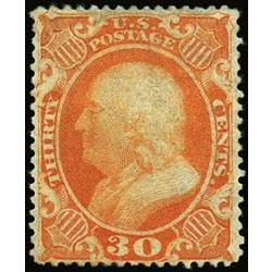 us stamp postage issues 38 franklin 30 1857