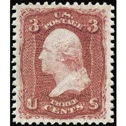 us stamp postage issues 65 washington 3 1861