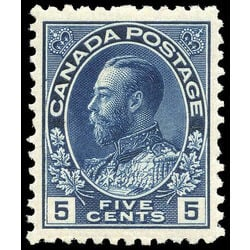 canada stamp 111a king george v 5 1912