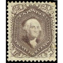 us stamp postage issues 70a washington 24 1861