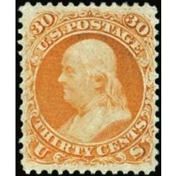 us stamp postage issues 71 franklin 30 1861