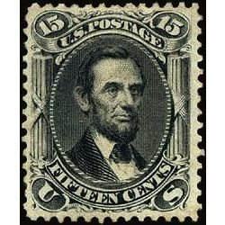 us stamp postage issues 77 lincoln 15 1861